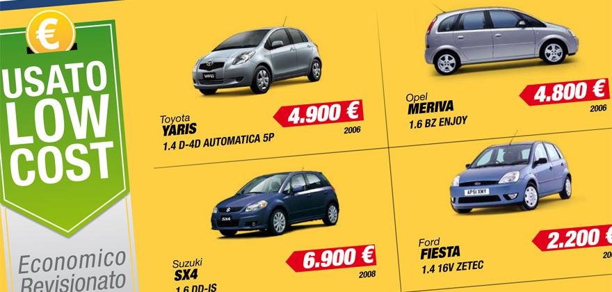 Offerte usato low cost Spazio