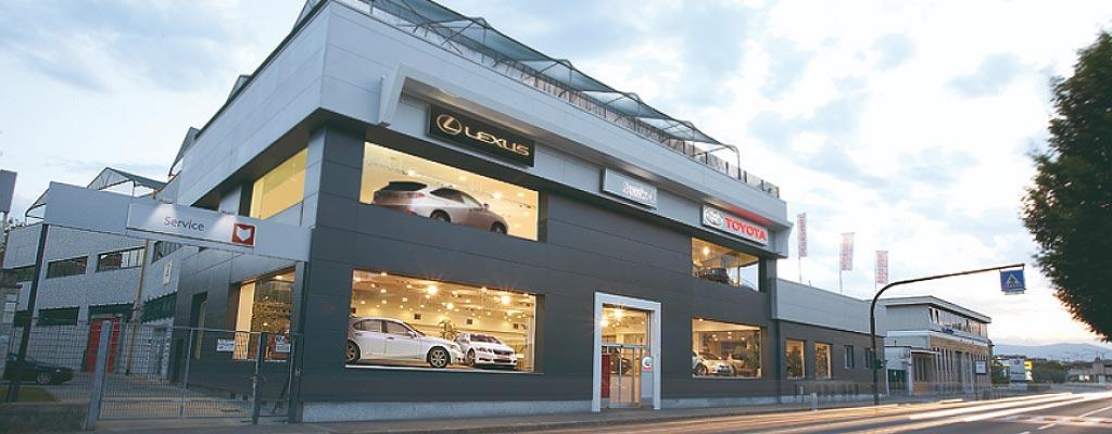 Concessionaria Toyota Torino via Botticelli