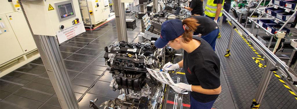 Produzione nuovo motore 2.0 in Polonia