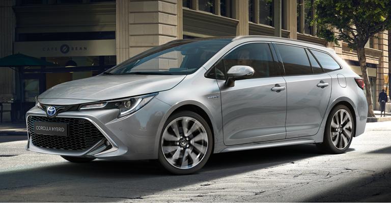 Promo Toyota Corolla Hybrid Touring Sports