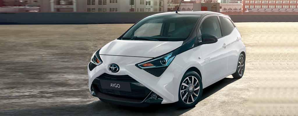 Nuova Toyota Aygo Connect a Torino